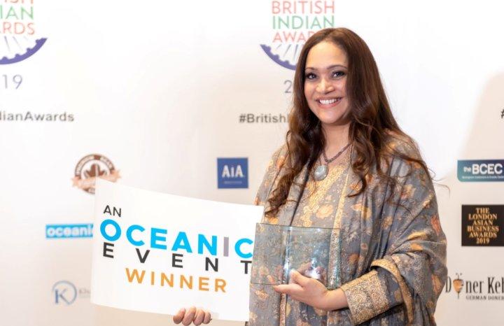 Anishya Kumar Businesswoman of the Year - British Indian Awards 2019
