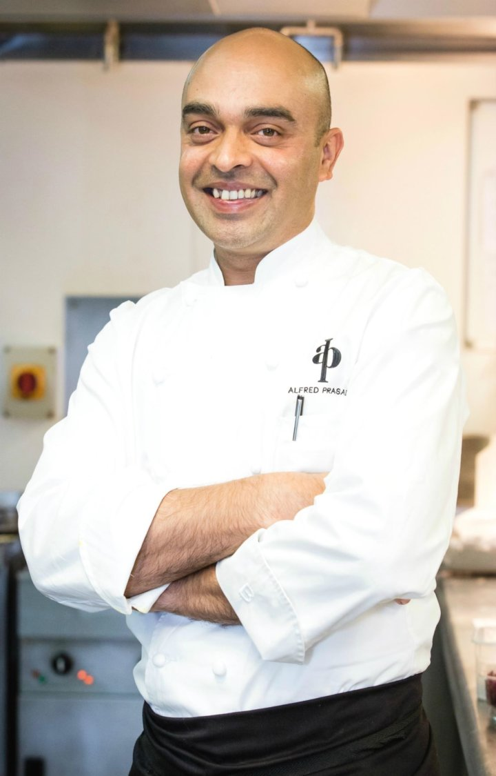 Alfred Prasad helped to develop fillings in Zinda Wraps