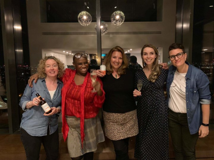 Andi Oliver and WiFi Food and Drink Panel