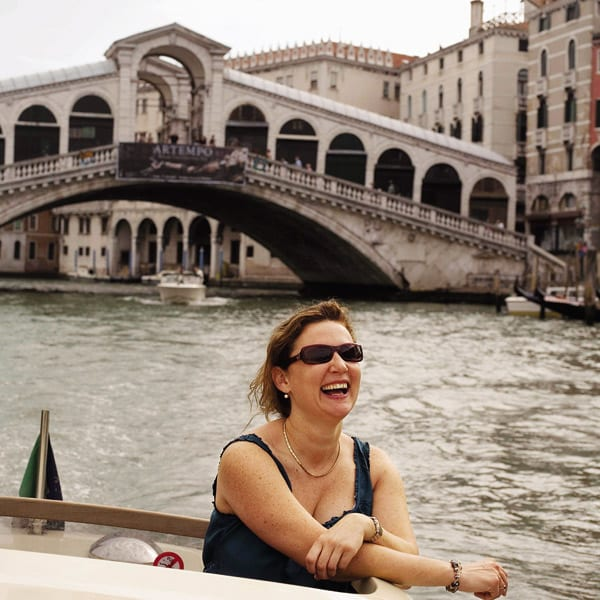 Angela Harnett in Venice