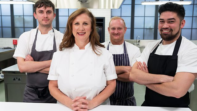 Angela Hartnett veteran judge on Great British Menu 2019