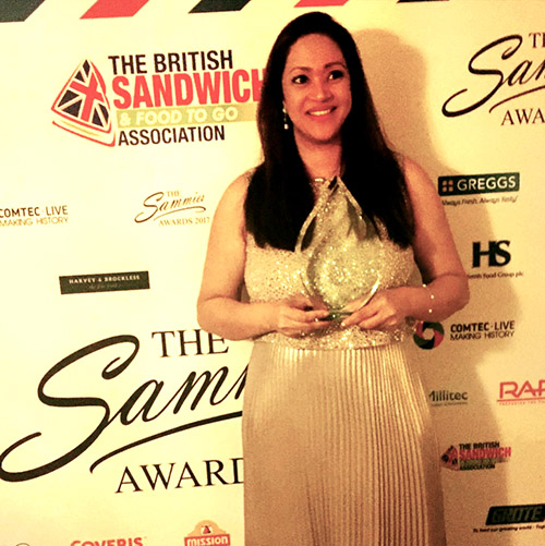 Anishya and Sammies Award