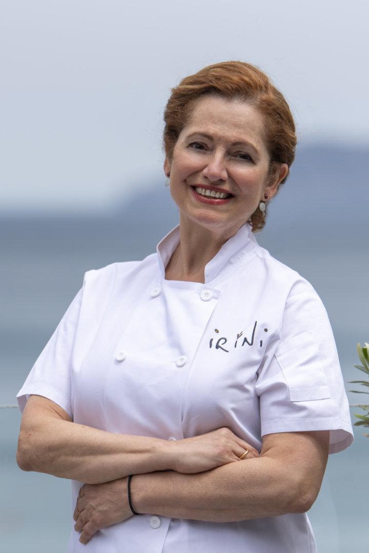 Irini Tzortzoglou in Crete