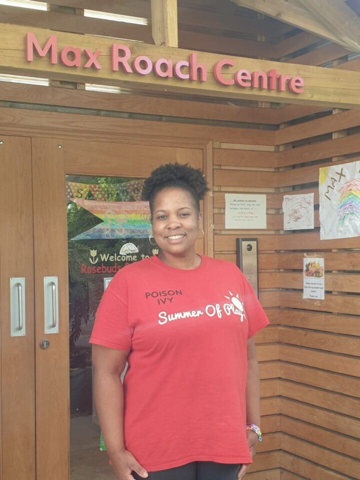 Candice from Loughborough Community Centre