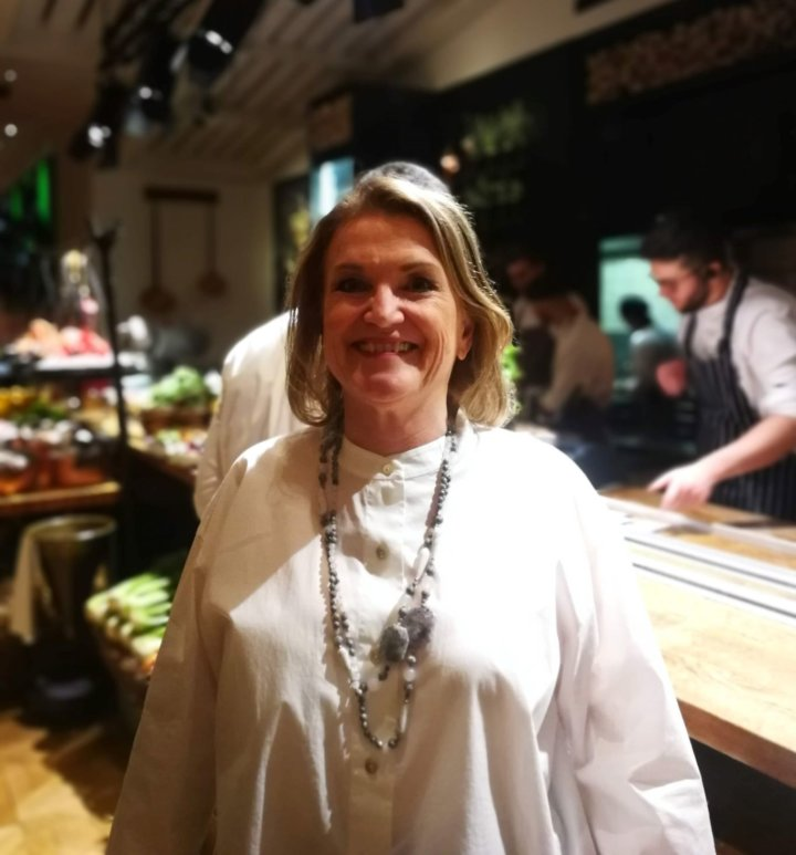 Caroline Taylor at Novikov Restaurant and Bar