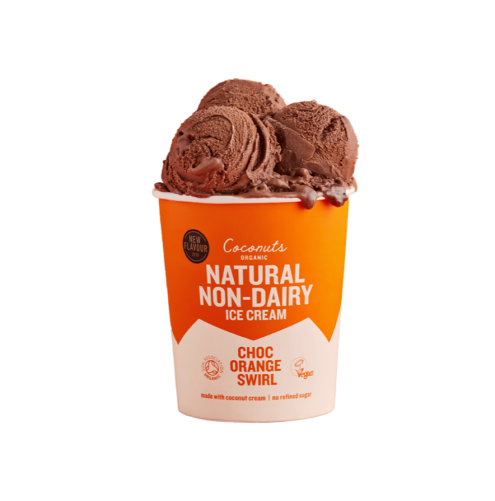 Choc Orange Ice Cream