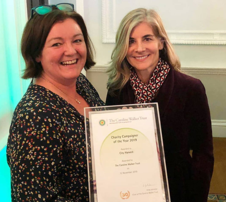City Harvest win Charity Food Campaigner of the Year 2019