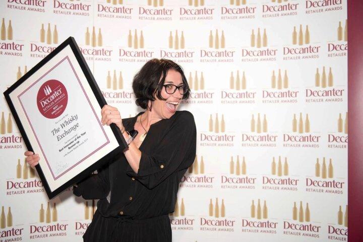 Dawn Davies at Decanter Awards