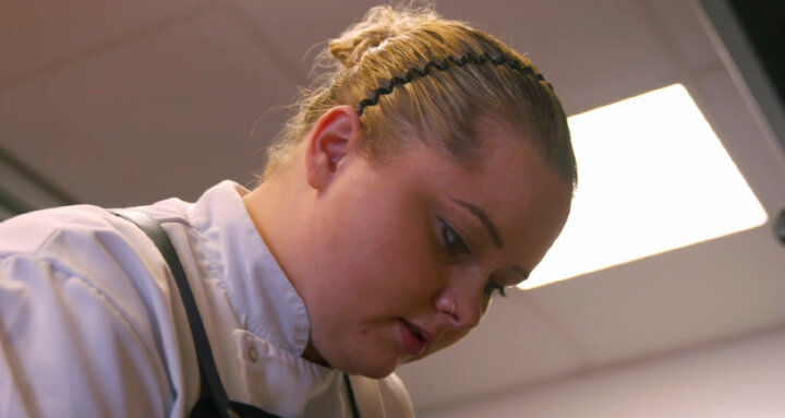 Elly Wentworth at the pass