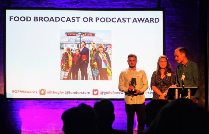 Food Broadcast and Podcast Award