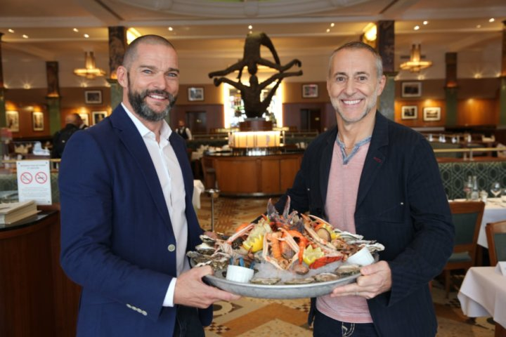 Fred Sirieix and Michel Roux Jr