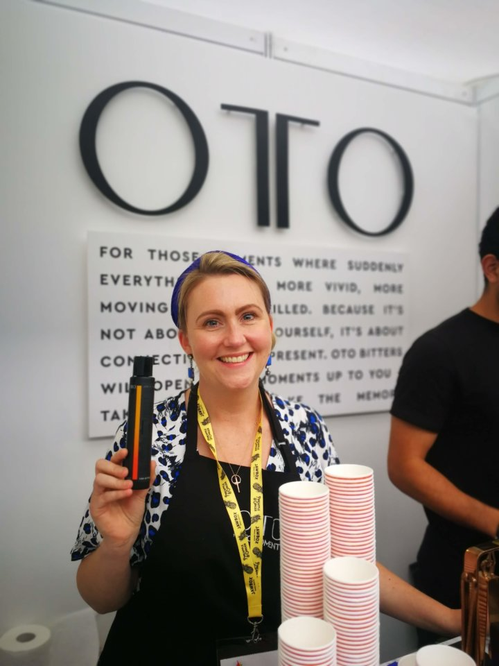 Gemma from OTO at IMBIBE