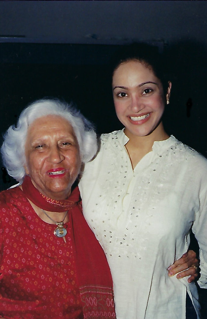 Anishya and her grandmother