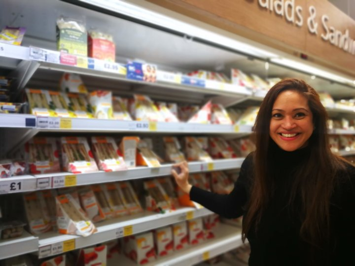 Anishya Kumar & AirWrap in Tesco