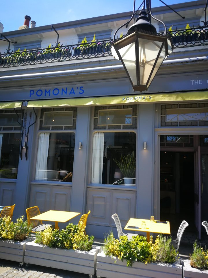 Pomona's in Notting Hill London