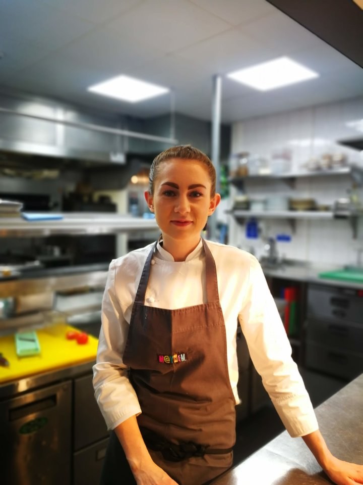 Ruth Hansom Head Chef at Pomona's