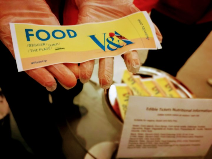 Edible Ticket - Food: Bigger than the Plate