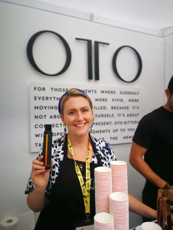 Founder of Otto CBD drink