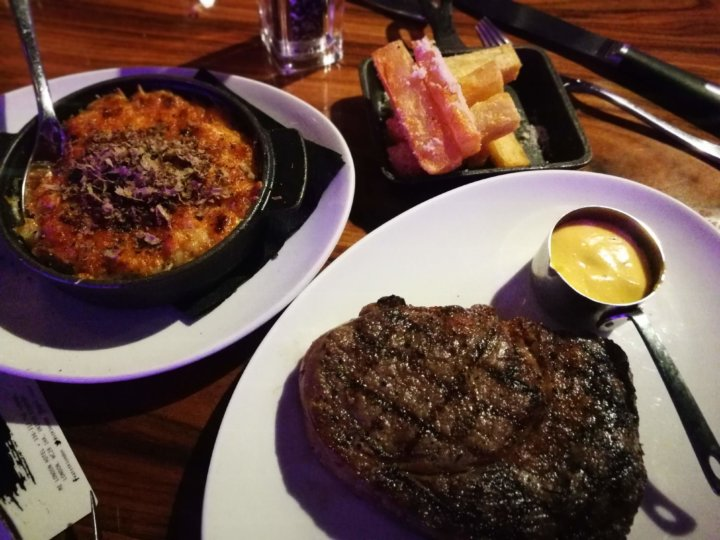 Steak at STK Steakhouse London