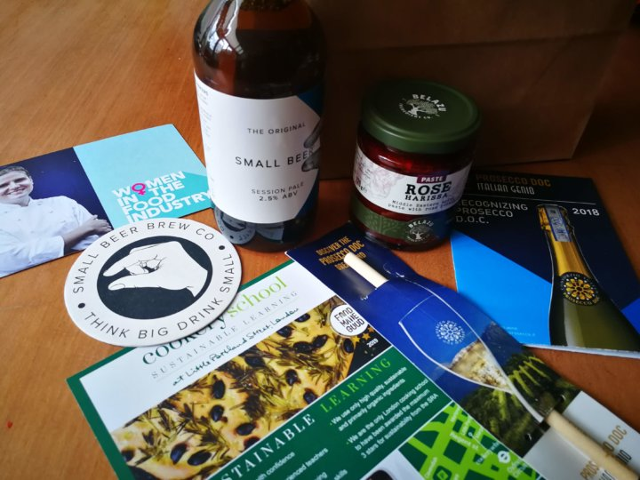 Goody Bag at Sustainable Food Futures event