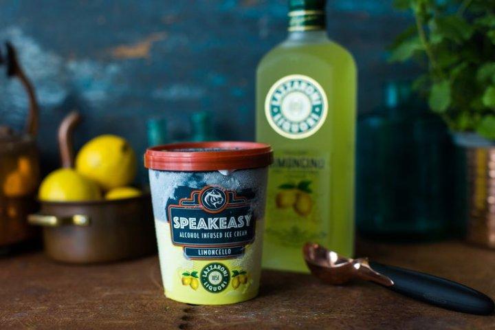 Limoncello Speakeasy Ice Cream