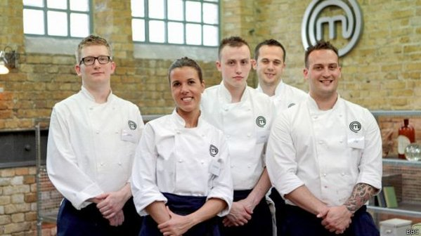 Luciana Berry on MasterChef The Professionals