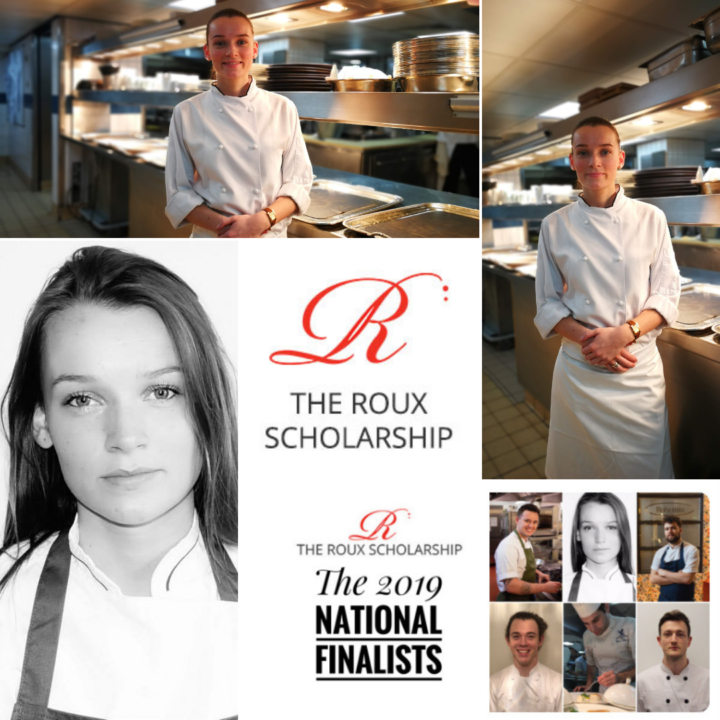 Olivia Burt Reaches Roux Scholarship National Finals