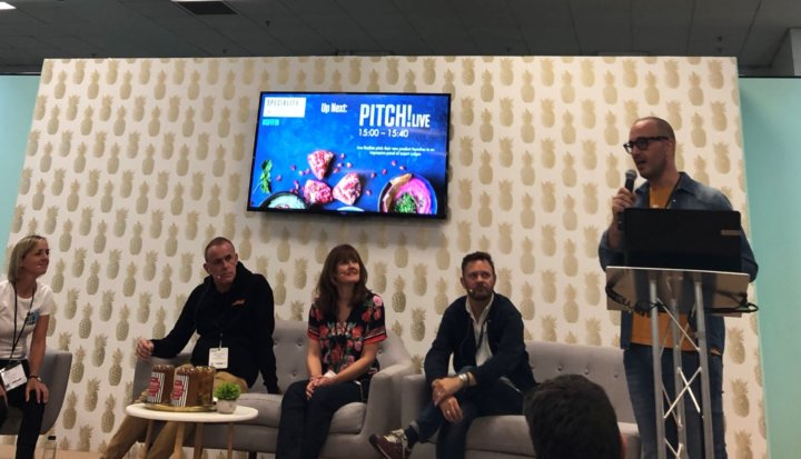 Pitch Live with Karen Green at Speciality and Fine Food Fair
