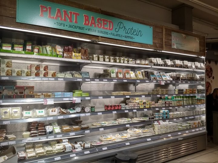Plant Based Proteins in Planet Organic