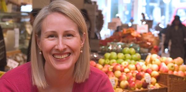 Renee Elliott at Planet Organic, Westbourne Grove