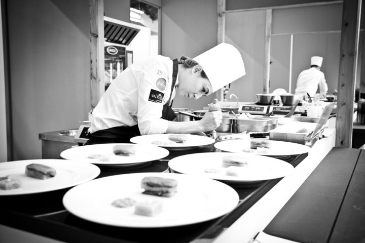 Ruth Hansom at Bocuse D'Or - Photograph by Jodi Hinds