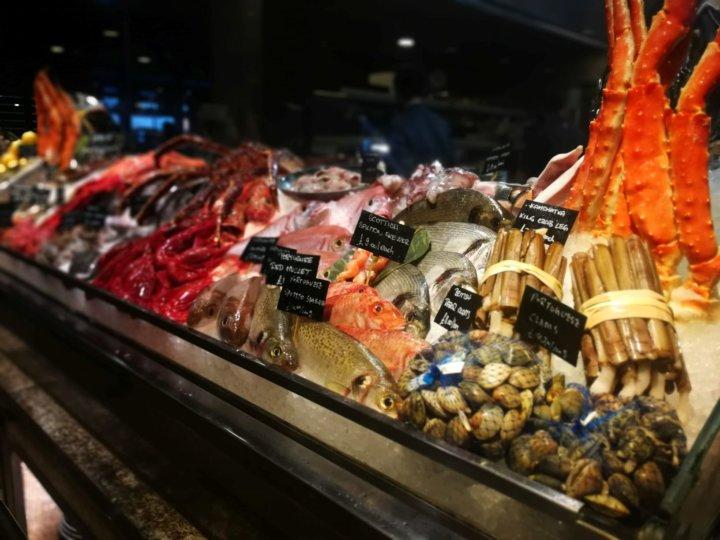 Seafood at Novikov Restaurant