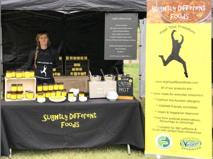 Slightly Different Foods show