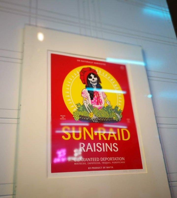 Sun Raid Poster at V and A
