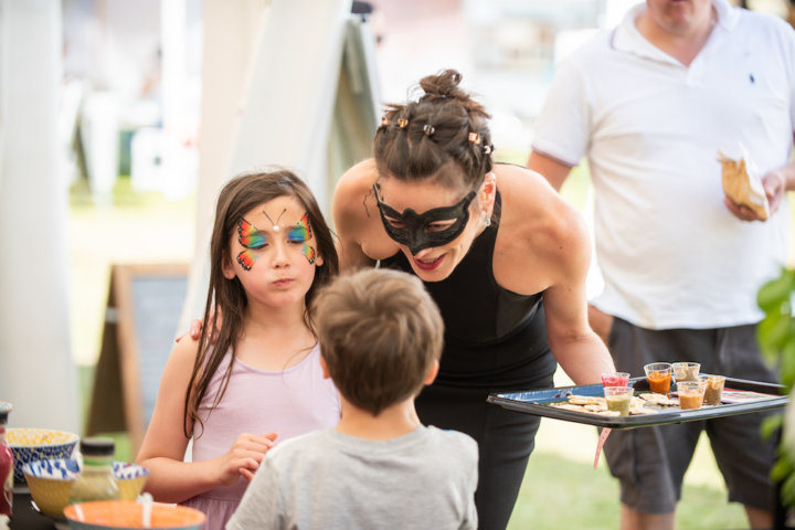Tanya Lambert with children