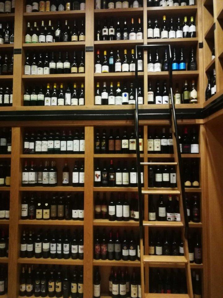 The Wine Selection at Novikov
