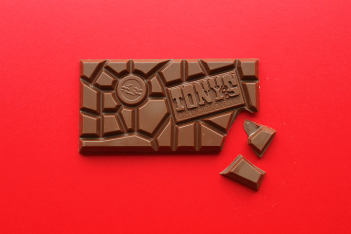 Tonys Chocolonely chocolate