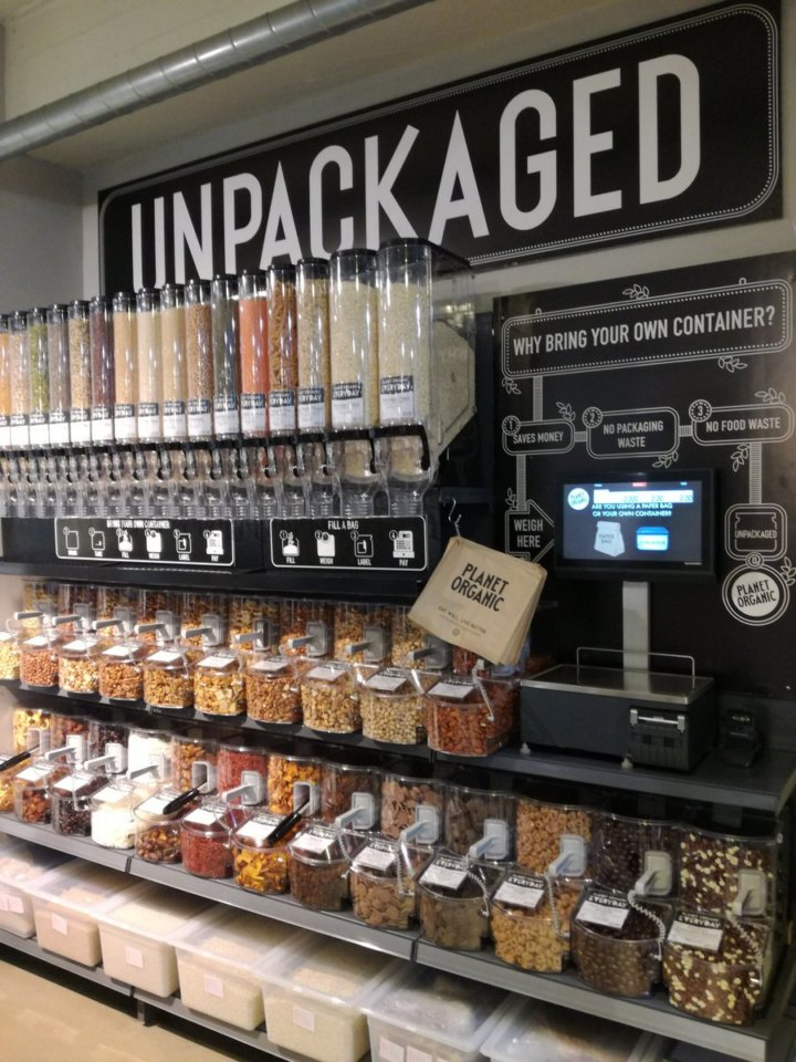 Unpackaged at Planet Organic