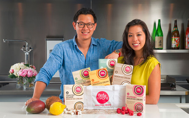 Vivien and Howard Wong founders of Little Moon