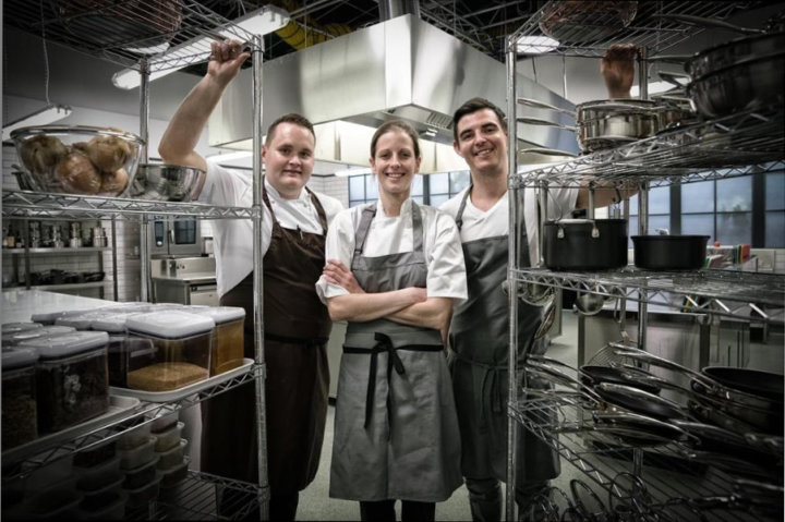 Welsh Great British Menu contestants - Tom Westerland, Cindy Challoner and Andy Sheriden