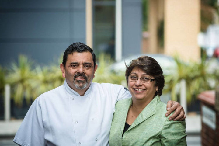 Pervin and Cyrus Todiwala