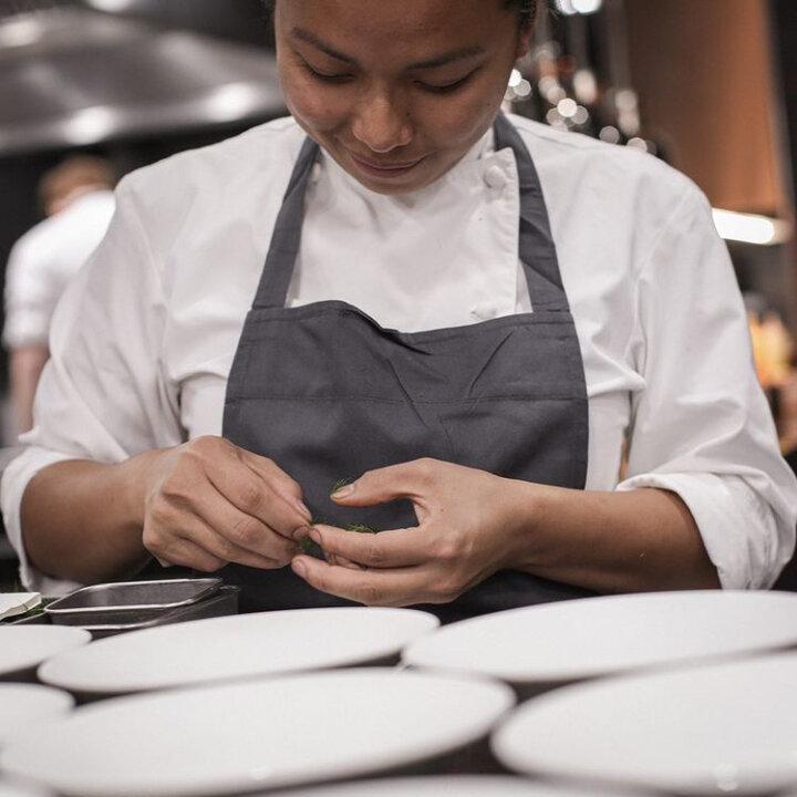 Kim Ratcharoen at Restaurant Gordon Ramsay