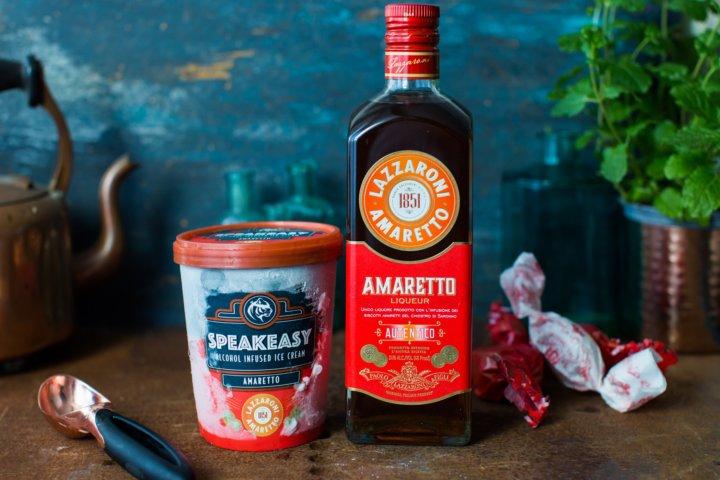 Speakeasy Amaretto Ice Cream