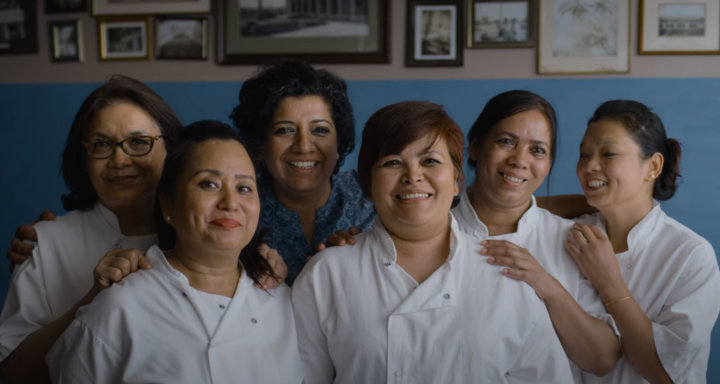Women Chefs in Asma Khan Kitchen from The Chefs Table